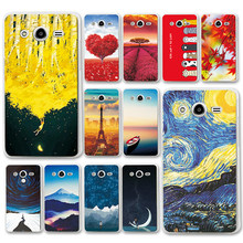 Mermaid Newest Flamingo Cute Various Case For Samsung Galaxy Core 2 G355H SM-G355H Case Cover For Samsung G355H 4.5 inch + Gift(China)