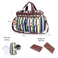 Baby Diaper Bags Large Capacity Handbags Mummy Tote Messenger Bags Maternity Changing Nappies Organizer Stroller Bags