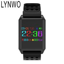 LYNWO M7 0.95 inch OLED Color Screen Blood Oxygen Pressure Heart Rate Monitor Pedometer Smart Watch
