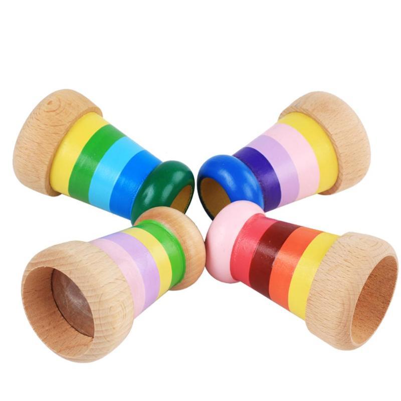 Novelty Wooden Kaleidoscope Toy