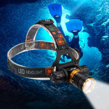 Waterproof 1000 Lumen XML T6 5 Mode Diving Headlight Headlamp Underwater Swimming Dive Head Light Torch Lamp Lighting Flashlight xml t6 l2 powerful battery flashlight diving professional portable dive torch underwater illumination waterproof flashlights