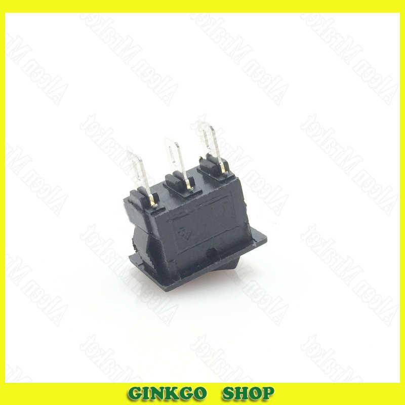 30 pcs/lot petit interrupteur à bascule 10X15mm 3 pieds 2 fichier bouton d'alimentation interrupteur à bascule