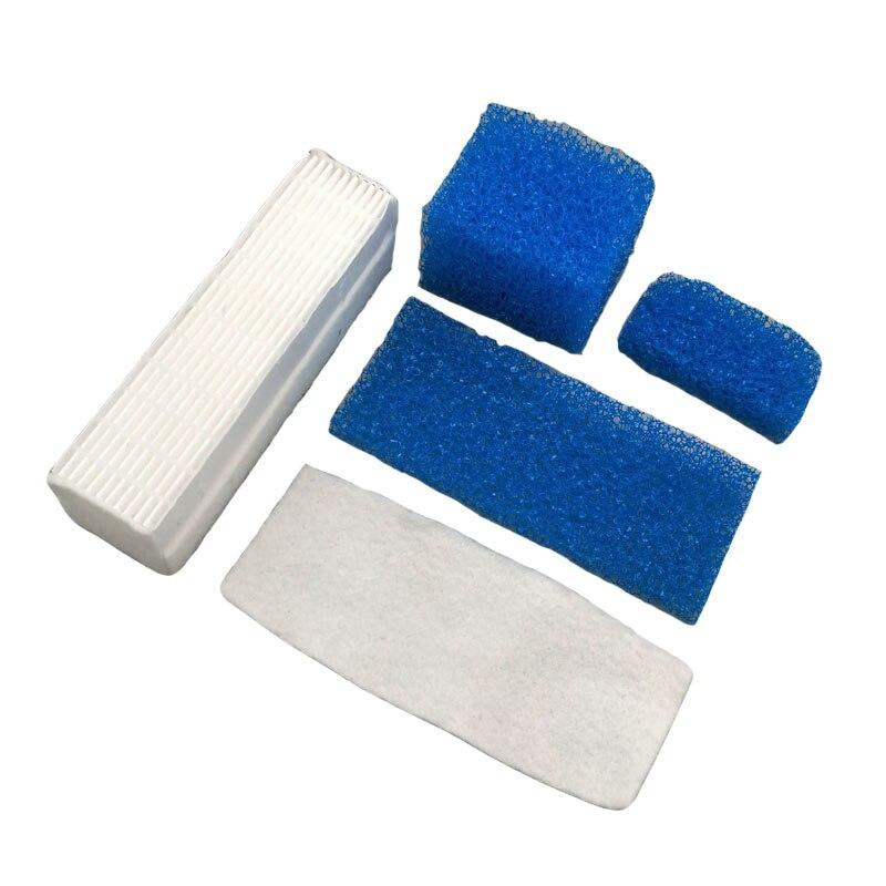 5pcs/lot Dust Hepa Filter Sponge Filters Set Kits For Thomas Twin Genius 787203 Vacuum Cleaner Parts Accessories Replacement