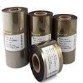 Золотая Серебряная лента 40 50 70 80 90 100 110 мм 300 м принтер штрих-кода термопечать этикетка Золото Серебро восковая лента