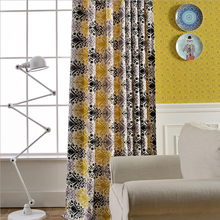 Window Curtains for Living Room Luxurious European Bedroom Curtain Patterns Designs Printed Drapes Single Panels A118