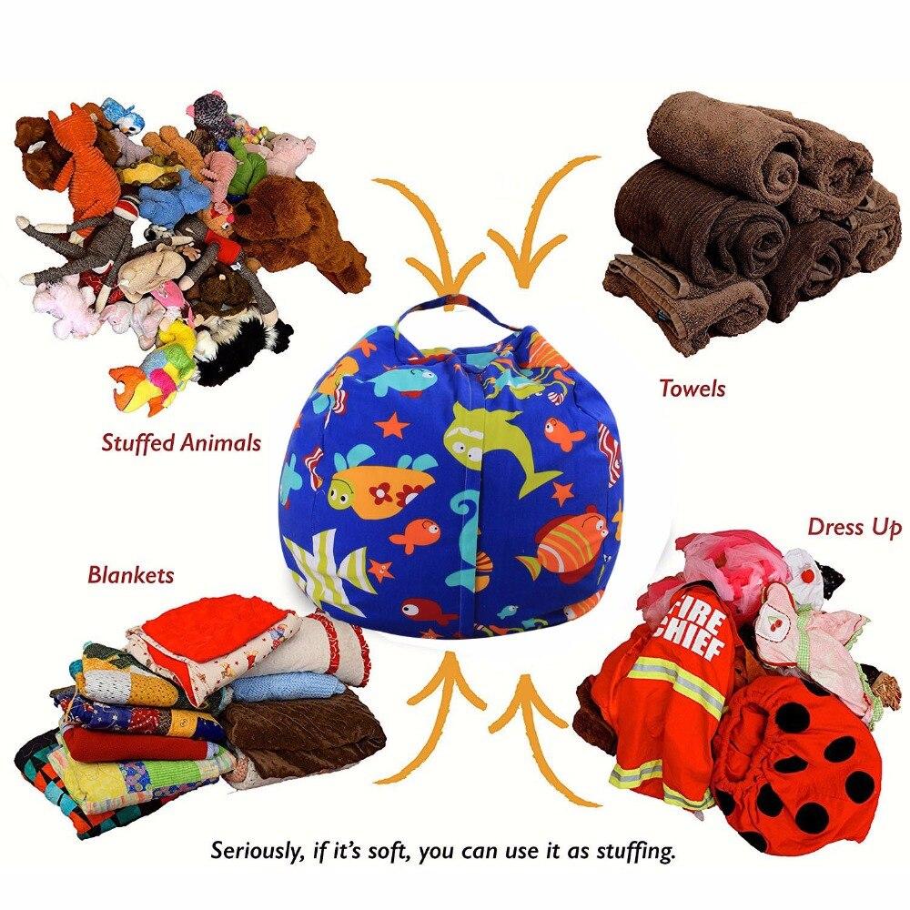 Levmoon Toy Storage Bean Bag