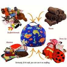 Saco de feijão de armazenamento de brinquedo levmoon