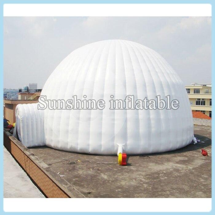 Besondere 6x4 M Aufblasbare Kuppel Zelt Grosse Aufblasbare Gebaude