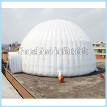 Featured 6x4m inflatable dome tent large inflatable building inflatable gazebo tent for outdoor event