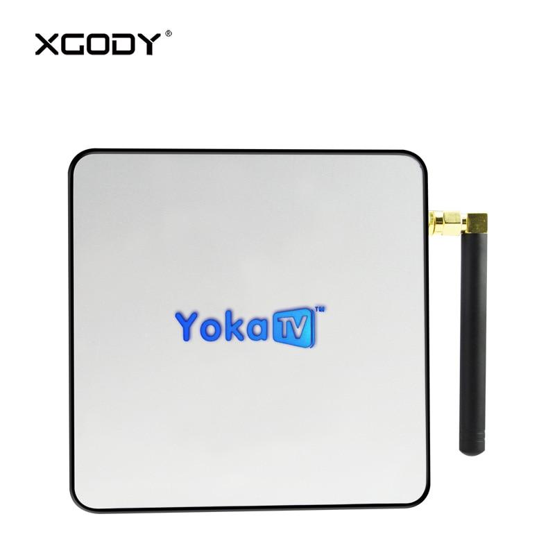 XGODY KB2 Smart TV Box Android 6.0 Amlogic S912 Octa Core 2GB DDR3 RAM 32GB eMMC ROM Kodi Streamer 4K TV Receiver Media Player цена и фото