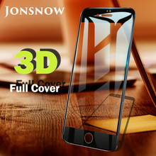3D Tempered Glass for iPhone 7 6 6s Plus 8 Screen Protector Full Soft Edge 9H All Covered 11 X XR XS Max
