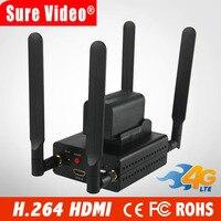 Best H.264/H264 4 г hdmi к ip кодер IPTV потоковым Энкодером Беспроводной видео передатчик Wi Fi RTMP RTSP HLS Поддержка