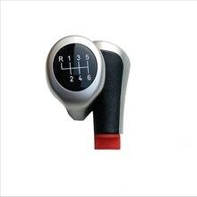 AUTO -6 Speed Gear Shift/Stick Knob Leather Chrome For BMW E90 E91 E92 X1