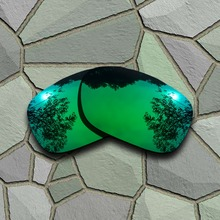 Jade Green Sunglasses Polarized Replacement Lenses for Oakley Twoface