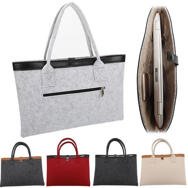 Woolen felt Laptop Bag Sleeve Case For Macbook Air Pro 11 13 15 inch Men Women.jpg 640x640 - MacBook Sleeve – Merino Wool Felt Tote Bag
