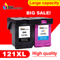 Сменный картридж INKARENA для принтера HP121XL  121 XL  D2563  F2423  F2483  F2493  F4213  F4275  F4283  1050  2050