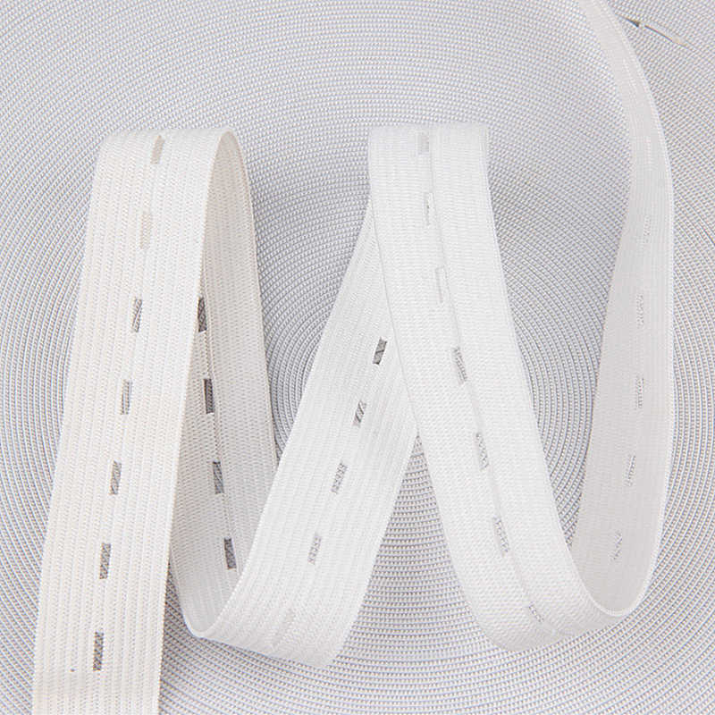 5M Long Black White Elastic Band for Underwear Handmade Sewing DIY Accessories Flat Elastic Band for Baby Pants Clothes15-30mm