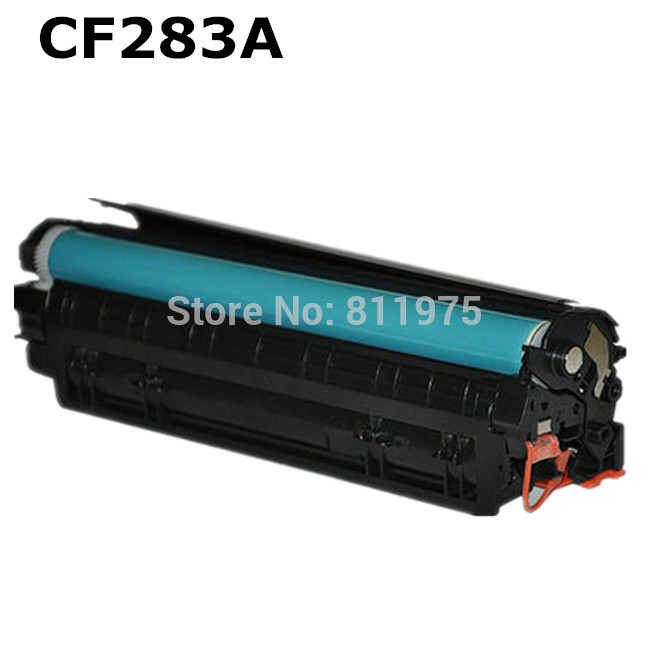 283A 283 83A CF283A BLACK compatible toner cartridge for HP Laserjet M127FN M126FN M125nw Printer цена