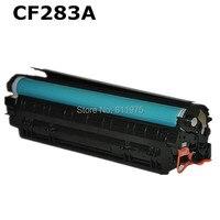 283A 283 83A CF283A czarny toner kompatybilny kartridż do hp Laserjet M127FN M126FN M125nw drukarki w Kasety z tonerem od Komputer i biuro na