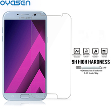 2 Pcs/Lot Premium HD Tempered Glass For Samsung Galaxy J3 2017 J3300 9H 2.5D 0.26MM Toughened Screen Protector Cover Film