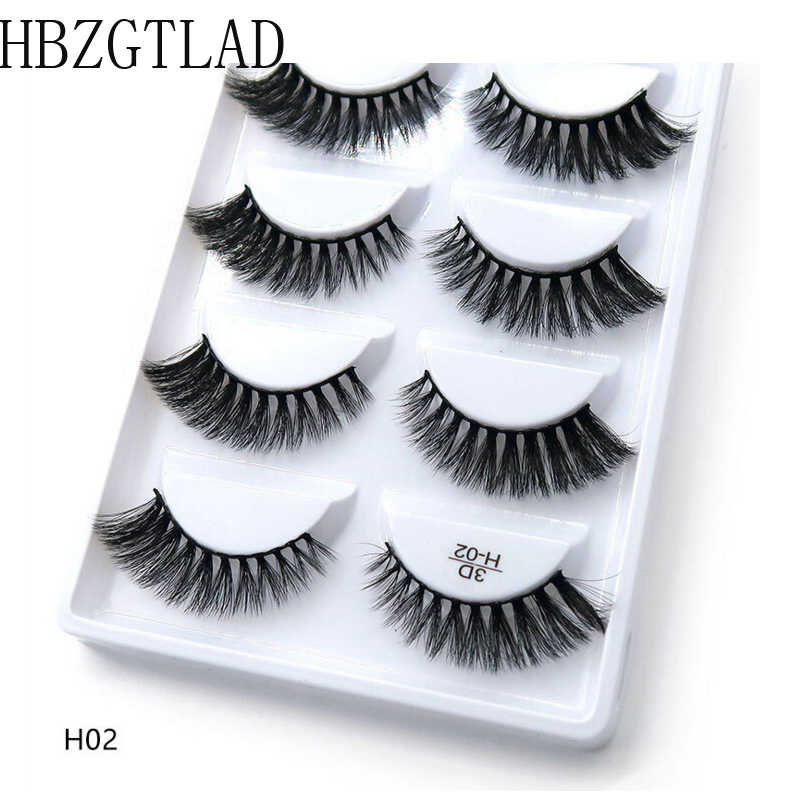 66212e787c4 High quality 3D Real Mink Fur False Eyelashes Reusable Handmade Natural Long  Soft Black Cotton Band