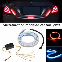 LED Strip Tail Light Bar Car Truck Running Brake Reverse Turn Signal Lamp Rear Trunk Leds