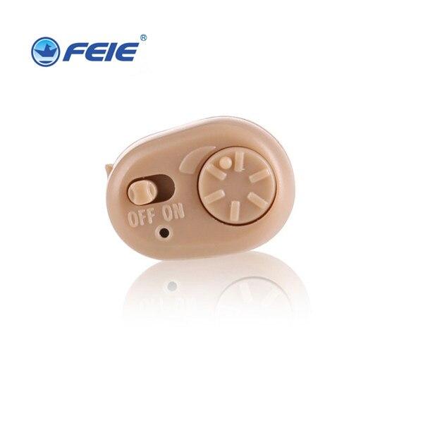 Ear Hearing Aid Digital ITC Hearing Amplifier Mini Portable Headphone Auidphone S-213 For Hearing Loss Free Shipping