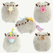 6 Styles Mini Pusheen Cat Plush Toys Dolls Cookie Icecream Doughnut Cake Rainbow Stuffed Animals Toy