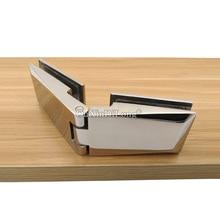2PCS Polish Chrome 304 Stainless Steel Glass to Glass Hinge Shower Door Hinges For Bathroom Hardware JF1699 подвеска из золота д0268 035186