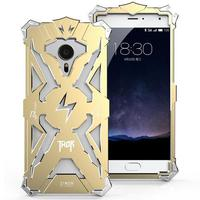 Simon Luxury Phone Case For Meizu Meilan Pro 5 THOR IRONMAN Shockproof Metal Aluminium Frame Anti
