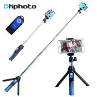 BENRO 33inch Handheld Tripod Selfie Stick 3 In 1 Bluetooth Extendable Monopod Selfie Stick Tripod For