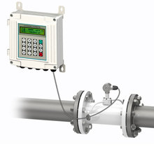 цены Ultrasonic Flow Meter Split type Pipe Transducers Flange Connection TUF-2000SW DN50mm Wall-mounted Digital flowmeter
