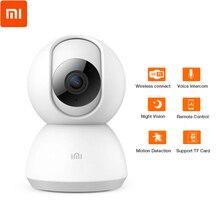 Оригинальная смарт-камера Xiaomi Mijia 1080 p, камера ночного видения 360 градусов, беспроводная Wifi камера с записью звука
