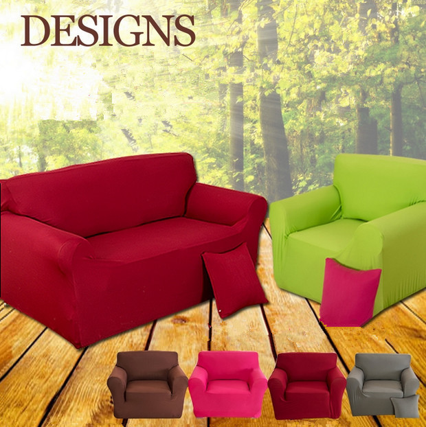 7 Color 1 Seater Stretch Sofa Protector Couch Cover