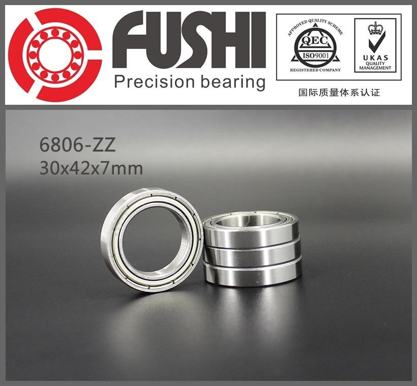 6806ZZ Bearing ABEC-1 (10PCS) 30x42x7 mm Thin Section 6806 ZZ Ball Bearings 61806 Z 6806Z 6700zz bearing 10pcs 10x15x4 mm thin section deep groove 6700 zz ball bearings 61700 zz 6700z z