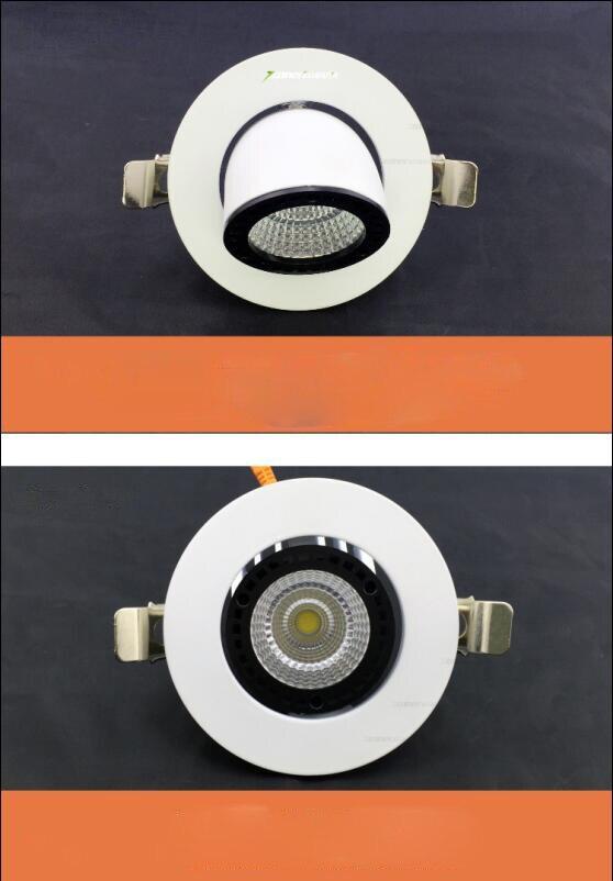 Livraison gratuite LED Downlight 50 W Spot encastré lampe de plafond lumière éclairage à la maison pour salon cuisine salle de bains CE ROHS