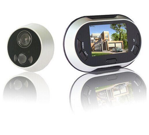 3.5 pouces LCD numérique porte visionneuse judas sonnette 170 degrés maison sécurité porte cloche caméra Photo prise de vue 3.5