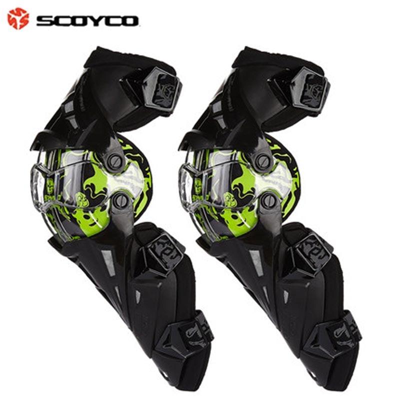 Scoyco K12 genouillères de protection moto genouillère de Motocross équipement de protection du genou