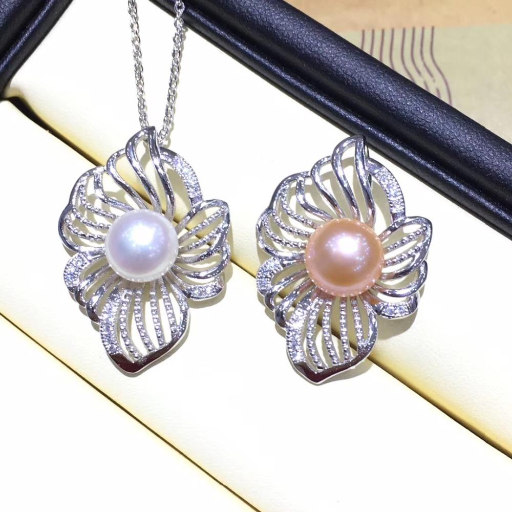 New Arrival Hot Wholesale Pearl Pendant Mountings Pendant Findings Pendant Settings Jewelry Parts Fittings Wedding Accessories