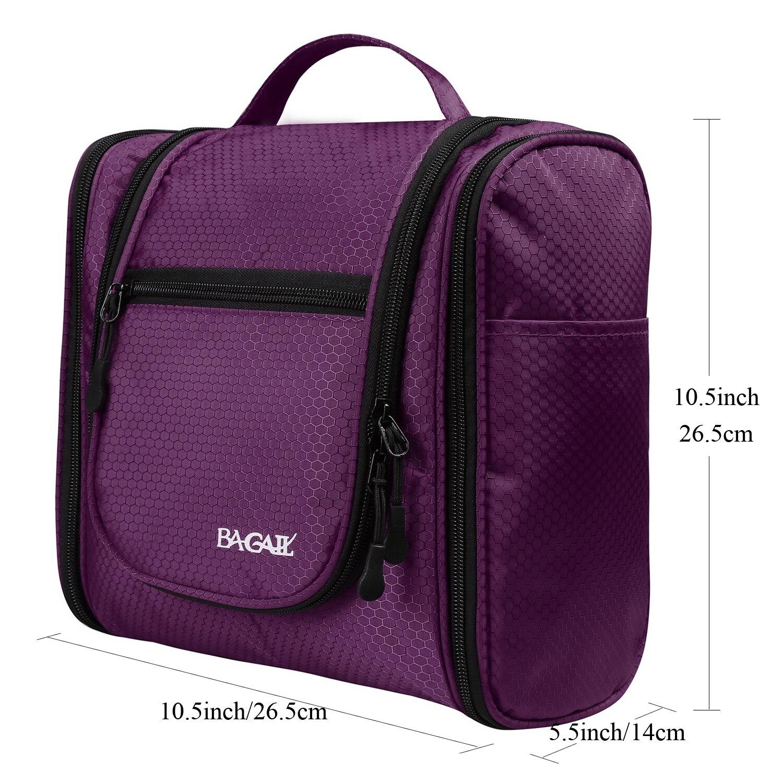 Bagail подвесная Туалетная сумка-Органайзер для макияжа, косметики, бритья,  дорожных аксессуаров, личных вещей 478df6e033b