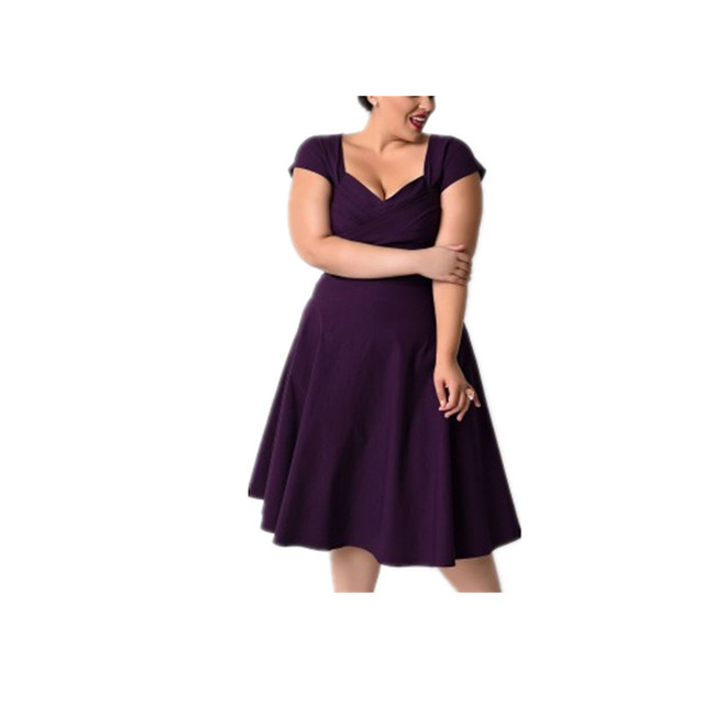 XL XXL XXXL 4XL 5XL 2016 Summer Super Plus Size Women Clothing Elegant  Evening Party Long vestidos Cotton Dress ec4ec08ada05