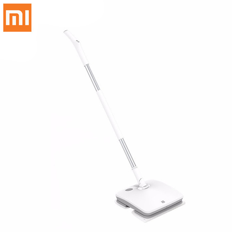 Original Xiaomi Handheld Electric Mop Wireless Mijia Wiper Electric Floor Mop Floor Washer Mopping Robot with LED Light swdk wipe mopping machine sweep floor robot home fully automatic wireless intelligent electric mop vacuum cleaner free shipping
