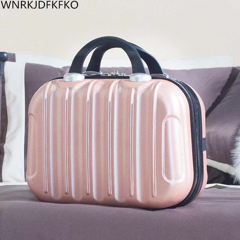 For Women Professional Cosmetic Case Beauty Makeup Necessary Waterproof Cosmetic Bag Suitcase For Adults Portable Cosmetic