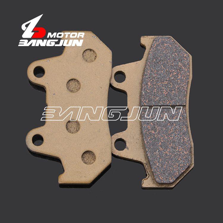 Motorcycle Rear Copper Base Metal Brake Pads For <font><b>HONDA</b></font> NS250 CBR400 VFR400 CBX750 VFR750 <font><b>CBR1000F</b></font> image