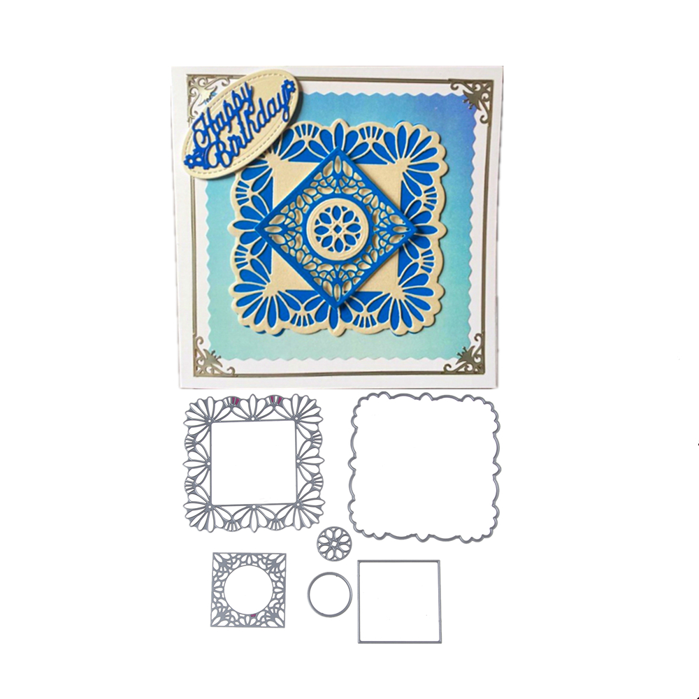 Greeting Cards Scrapbook Craft Dies Scrapbooking Die 3d Stamp Diy