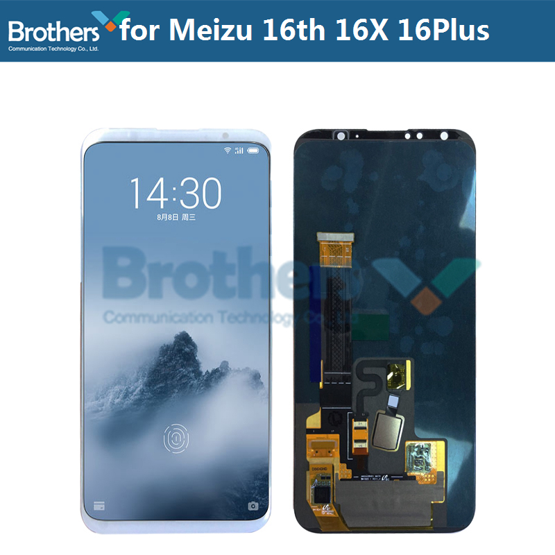 for <font><b>Meizu</b></font> 16 LCD Screen LCD <font><b>Display</b></font> for <font><b>Meizu</b></font> 16 Plus <font><b>16X</b></font> M882Q M8821H M872Q M872H Touch Screen Digitizer Original LCD Assembly image