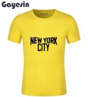 John Lennon Ringer Black and White New York City T shirt Men casual gift tee USA Size S-3XL #317