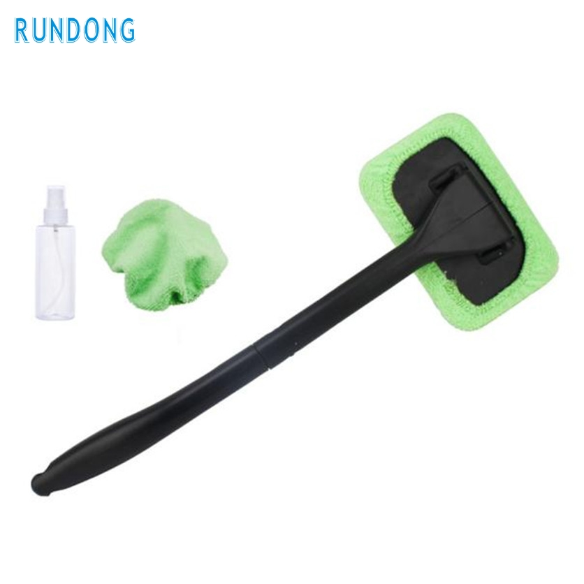 rundong 1pc 10cm x 15.5cm Length 44.5cm Windshield Easy Cleaner - Clean Hard-To-Reach Windows On Your Car, Home Washable