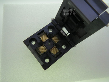 Clamshell  IC51-0484-806-6 QFP48/TQFP48  IC Burning seat Adapter testing seat Test Socket test bench in stock free ship