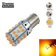 1156 luz led ba15s s25 p21w bau15s t20 7440 carro lâmpada led 35 smd 3030 sinal de volta corrente constante evitar a cintilação freqüente